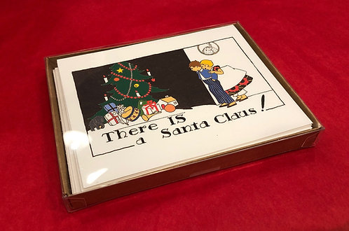 There IS a Santa Christmas Greeting Cards Boxed Set of 8
