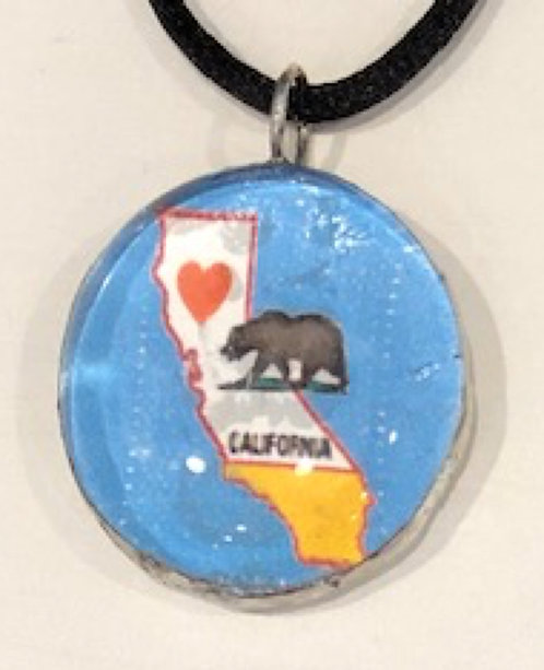Soldered California Pendant
