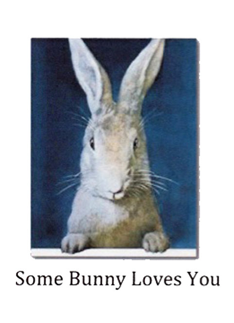 Greeting Card - Some Bunny Loves You