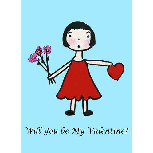 Valentine Card - My Valentine