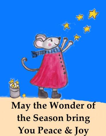 Wonder of the Season Greeting Card
