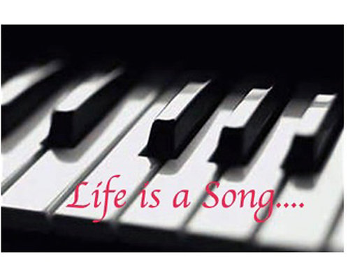 Greeting Card - Life is a Song