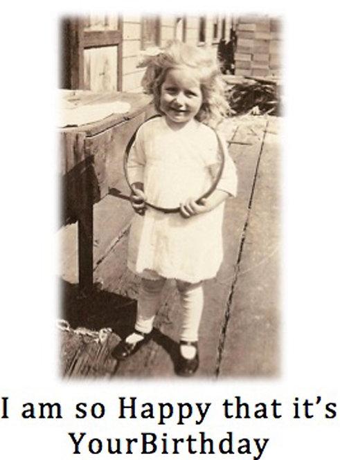 Birthday Card - Happy It's Your Birthday