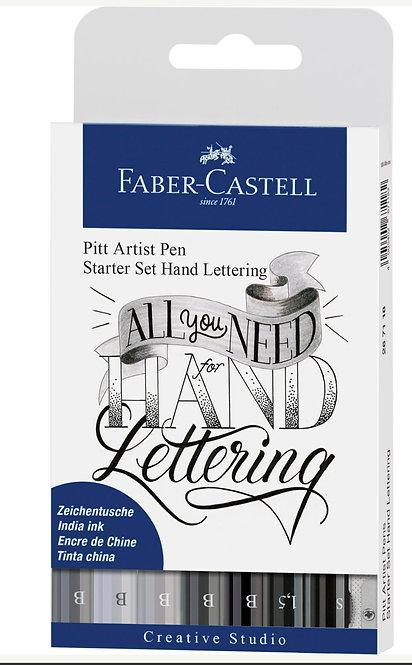 Pitt Artist Pen® Hand Lettering Starter Set of 8 Pens