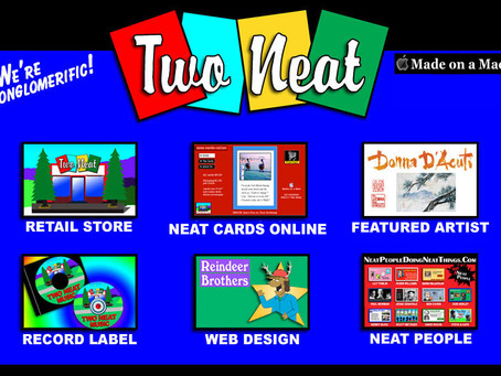 Two Neat in Mill Valley Adds Our Cards