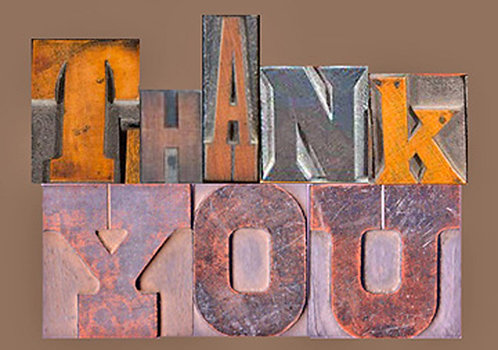 Thank You Greeting Card - Thank You Letters