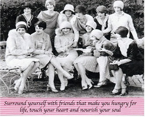 Greeting Card - Surround Yourself with Friends