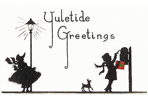 Christmas Card - Yuletide Greetings