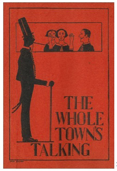 Greeting Card - The Whole Town's Talking