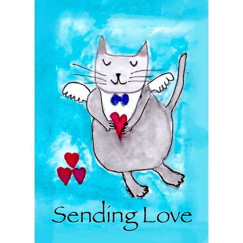 Affirmation Card - Sending Love