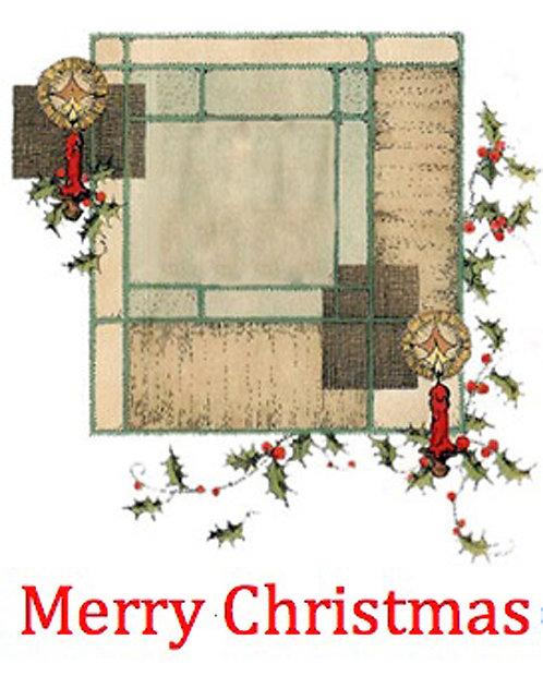 Christmas Card - Christmas Window