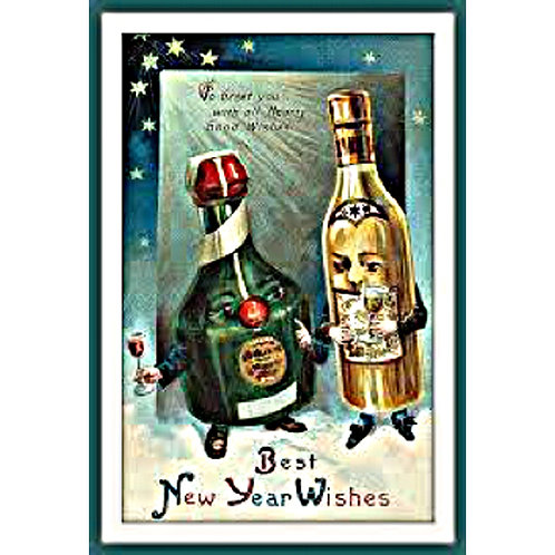 New Year Card - Best New Year Wishes