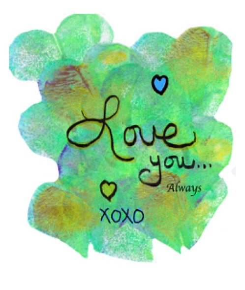 Valentine/Love Greeting Card - Love You Always