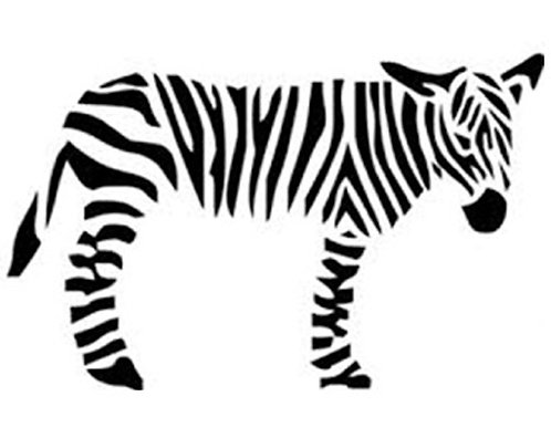 Greeting Card - Zebra