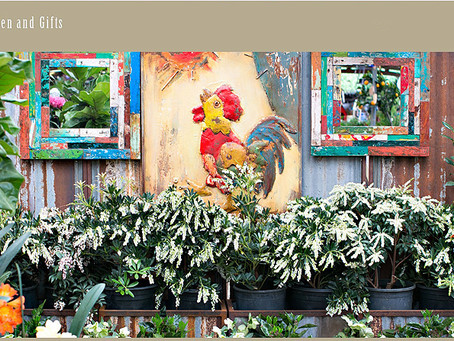 Our Cards are now in Portola Valley at Ladera Garden and Gifts