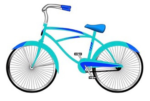 Greeting Card - Bicycle