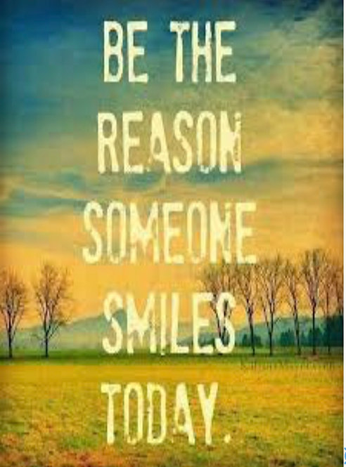 Greeting Card - Be the Reason Someone Smiles Today