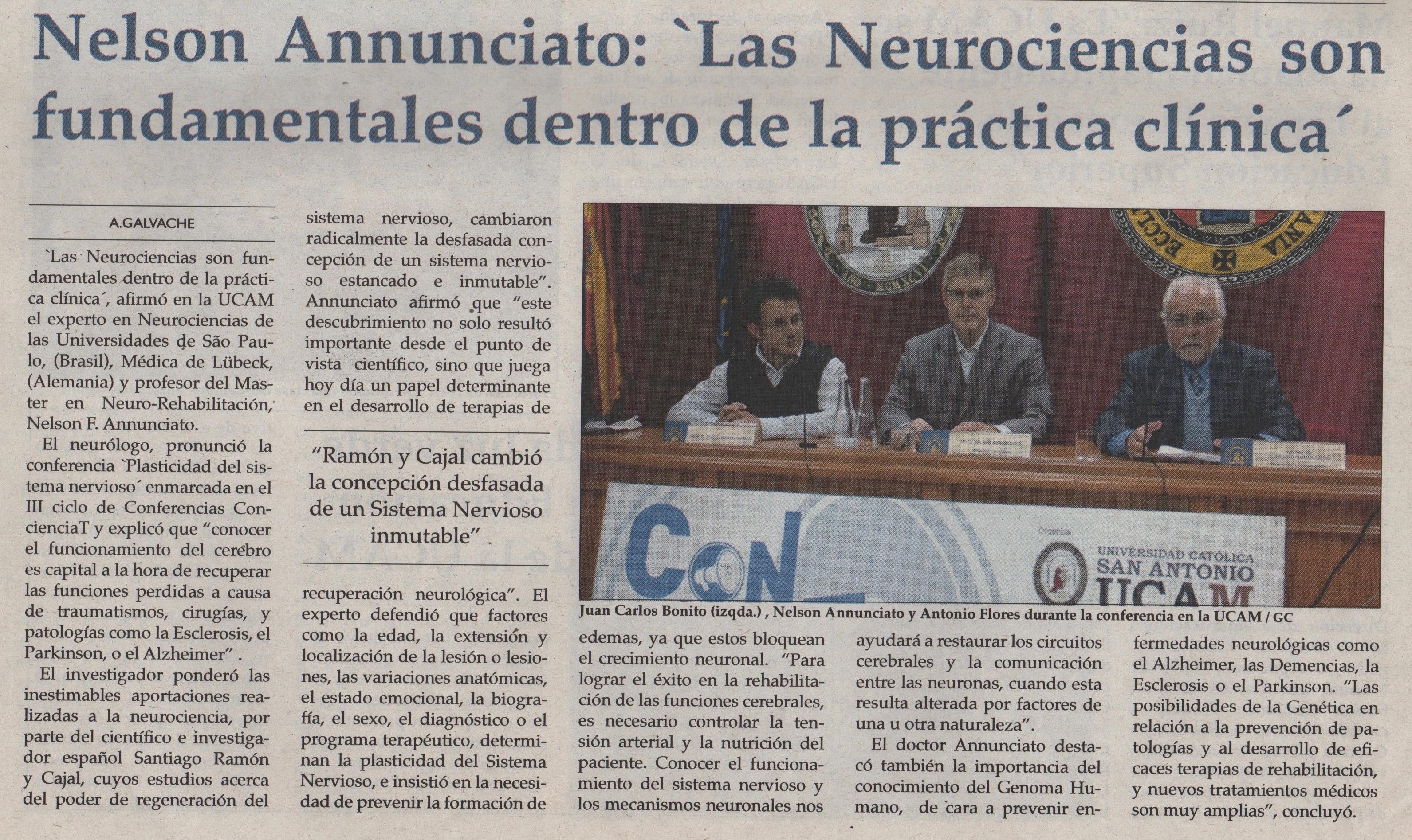 Conferencia Dr. Nelson Annunciato
