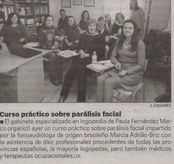 Curso parálisis facial