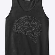 Camiseta Cerebro B&N