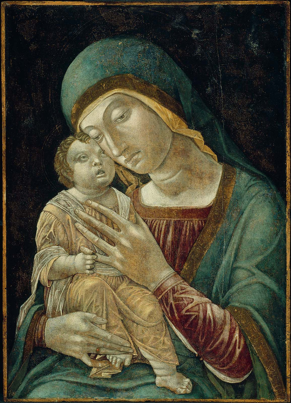 "Andrea Manegna, ""Madonna and Child"""
