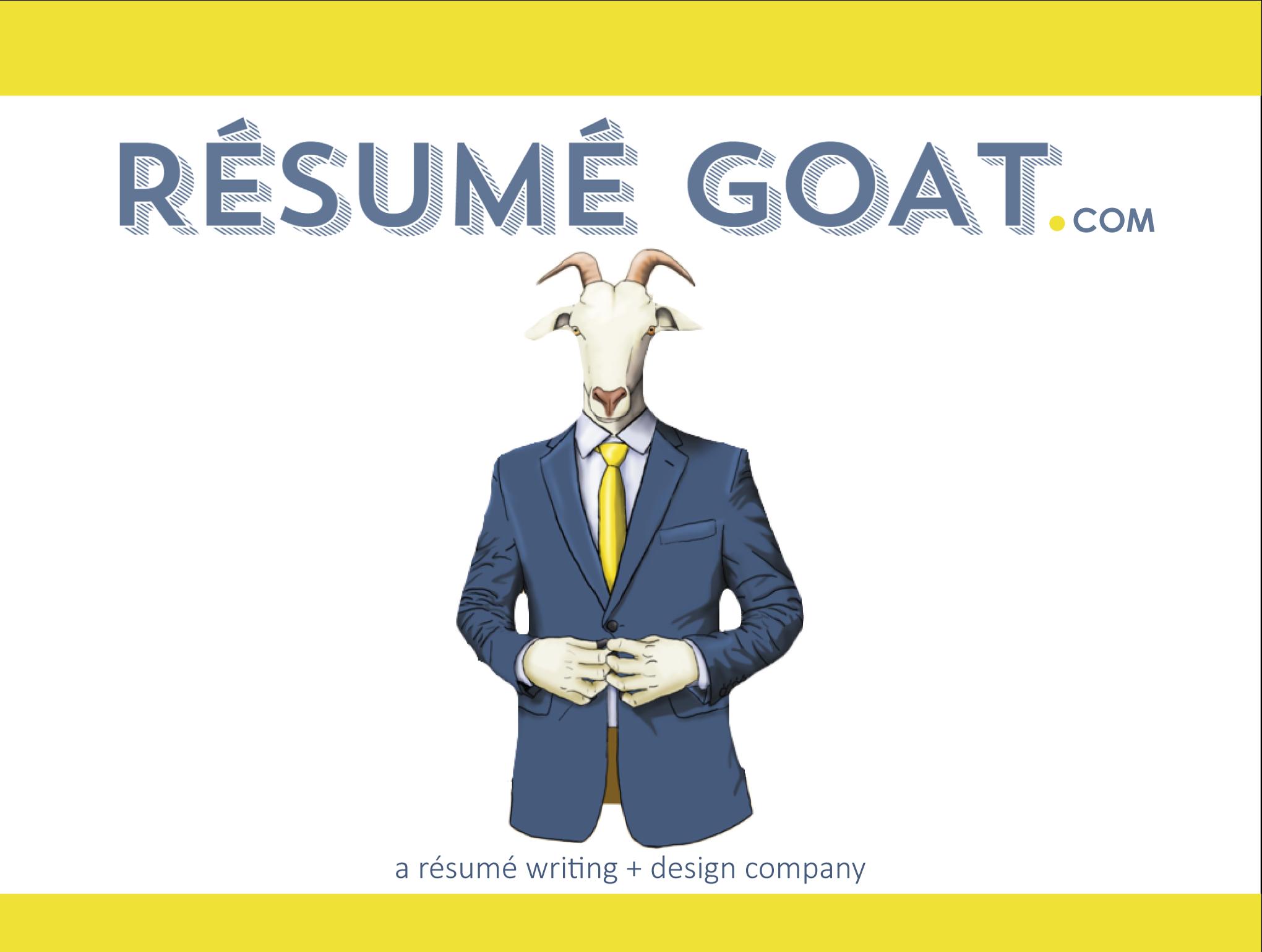 Résumé Goat | Austin, TX | Résumé Writing
