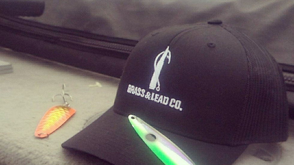 Brass and Lead Co. Black Snapback