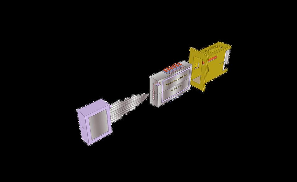 Fig_1----(Clé)-(Bloc) Extérieur---Porte