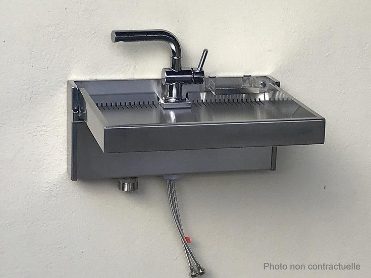 Vasque pliable_ Econox21-3 (Mitigeur et siphon sont vendues séparément)