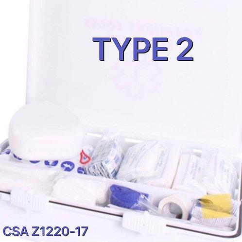Trousse TYPE 2 (petite) - Risque faible