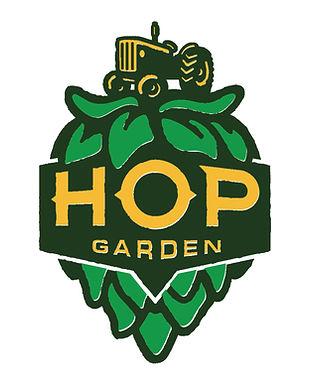 the hop garden logo