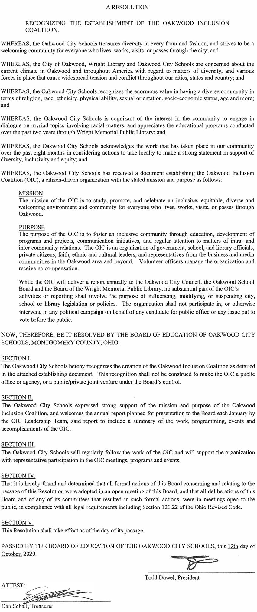 OIC Resolution - Oakwood City Schools.pn