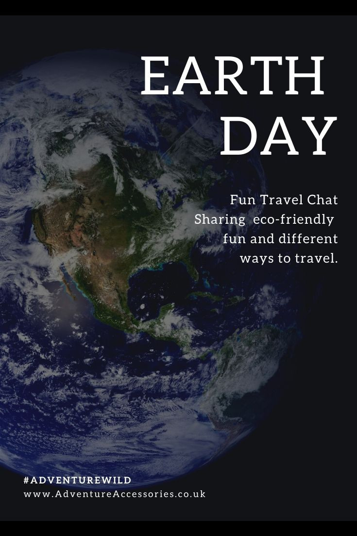 Earth Day Pin - Pinterest. Adventure Accessories