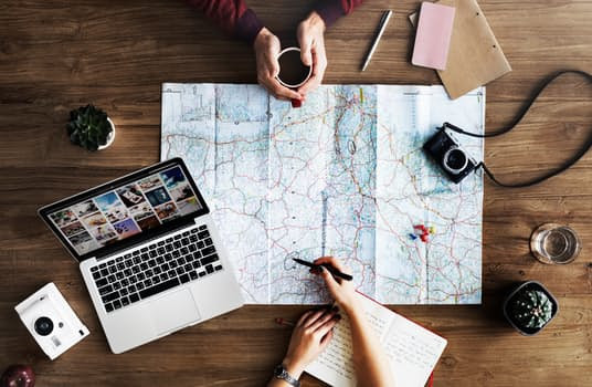 Travel planning around the world. Adventure Accessories