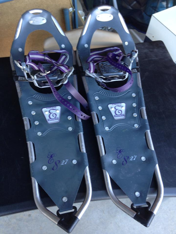 Snowshoes, Mount Whitney. Adventure Accessories