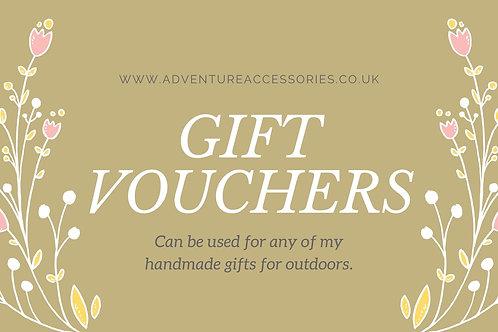 Gift Vouchers - £5, £10, £20