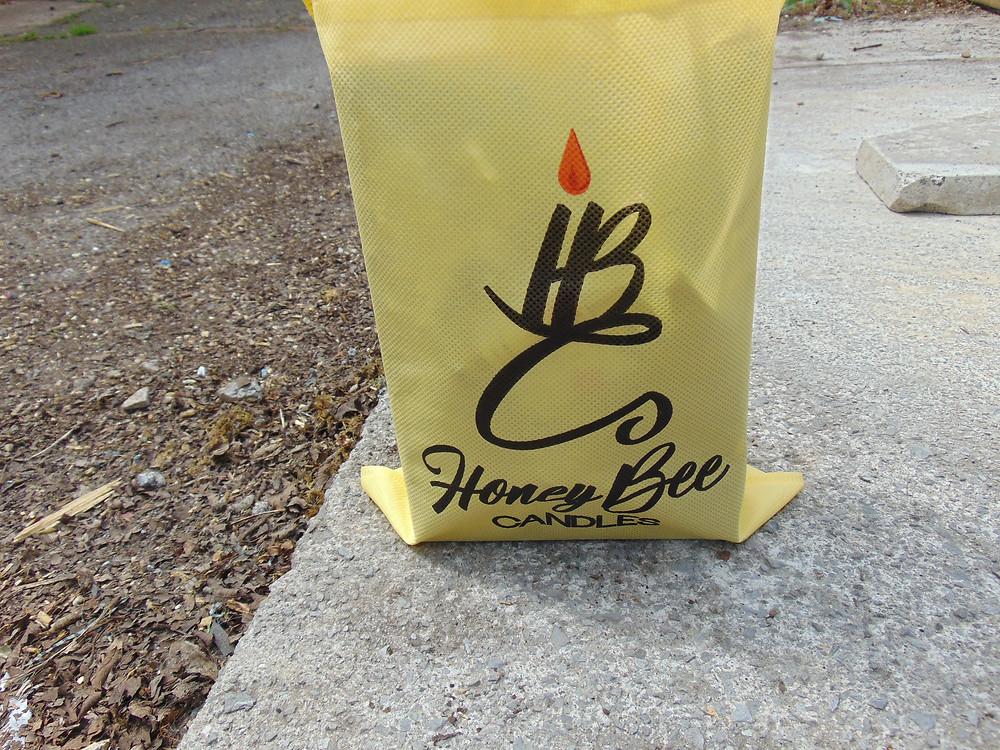 Honey Bee Candles, Branded Packaging. Adventure Accessories