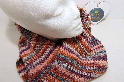 Cowl Scarf, Charity Brown - Gifts for Outdoors. Adventure Accessories