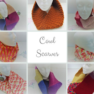 Cowl Scarves - Neck Warmer, Snood and Long Scarf