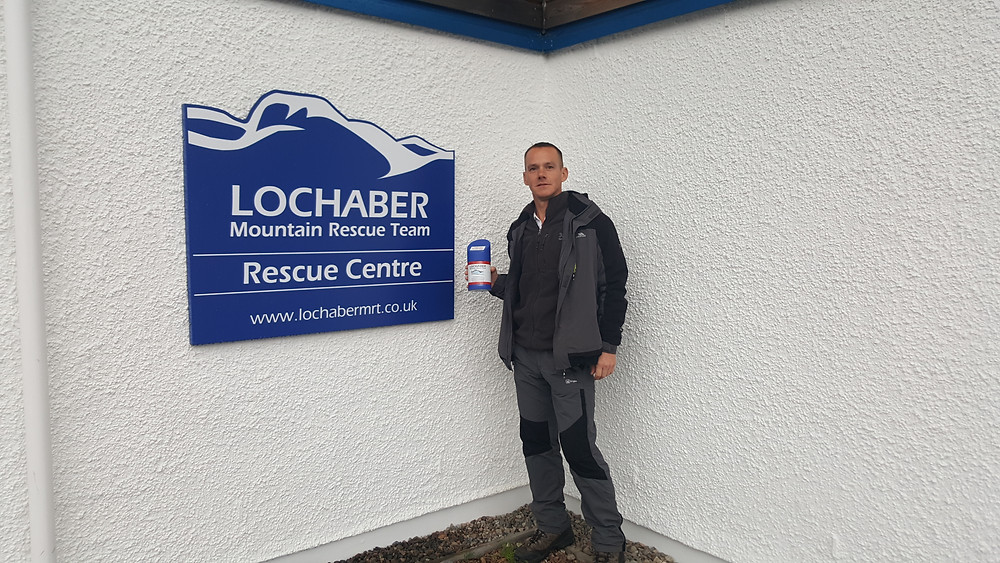 Andy Cole, Lochaber Mountain Resuce. Adventure Accessories