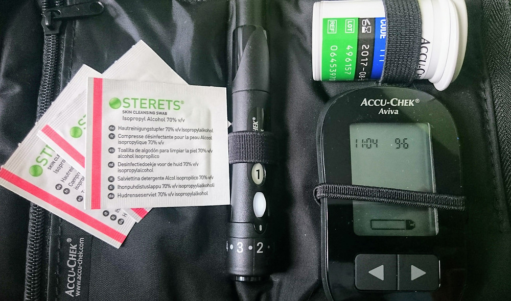 Diabetes Test Kit. Adventure Accessories