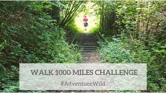 Walk 1000 miles challenge by Adventure Accessories
