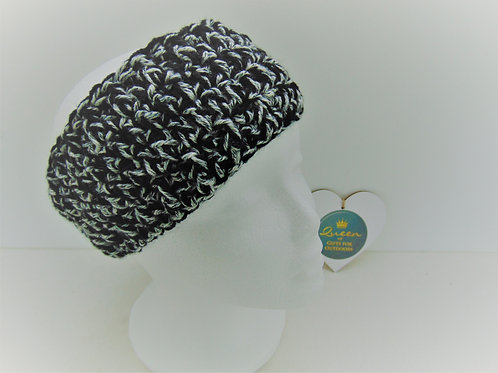 Ear Warmer Black Denim. Gifts for Outdoors, Adventure Accessories