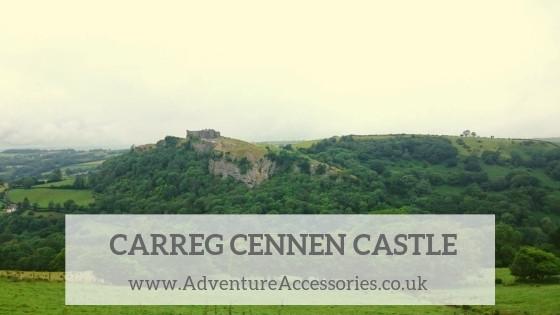 Carreg Cennen Castle, Visit Carmarthenshire. Adventure Accessories