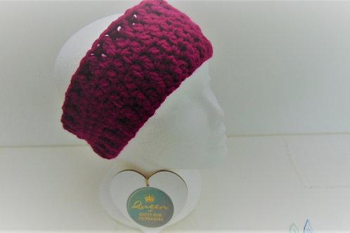 Ear Warmer Headband - Plum. Gifts for Outdoors, Adventure Accessories
