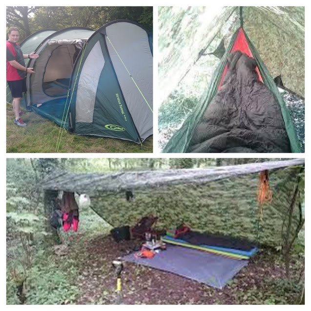 Tent, Hammock or Ground Shelters. Adventure Accessories