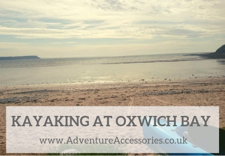 Kayaking at Oxwich Bay