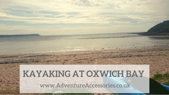 Kayaking at Oxwich Bay, Adventure Accessories