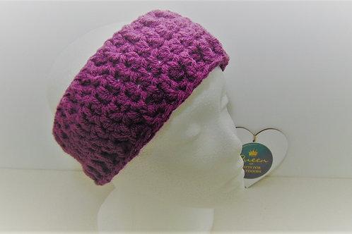 Ear Warmer Headband - Plum, Gifts for Outdoors, Adventure Accessories