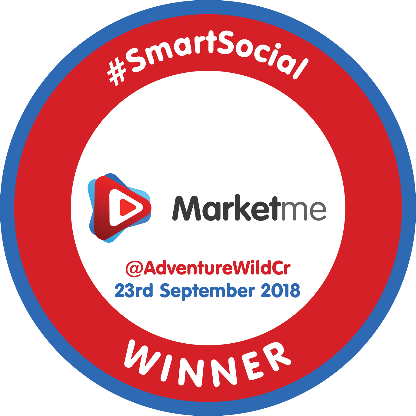SmartSocial Badge - Circle